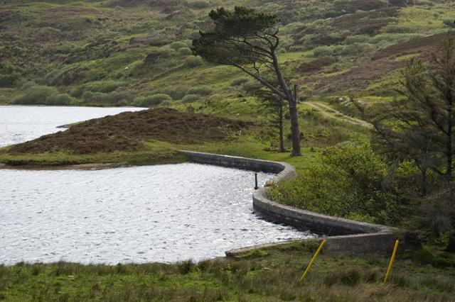 Dam, Turraman Loch, Colonsay