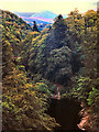 NN9161 : River Garry, Pass of Killiecrankie by David Dixon
