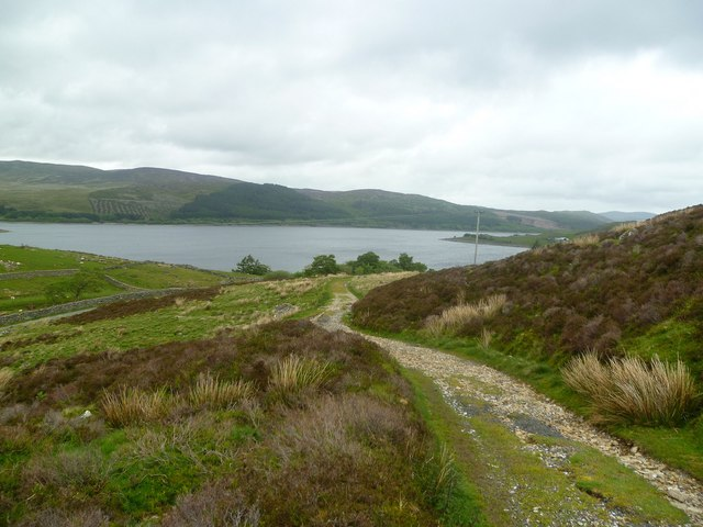 Track to Llyn Arenig Fawr