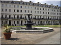 TQ2978 : Fountain in Bessborough Gardens by PAUL FARMER