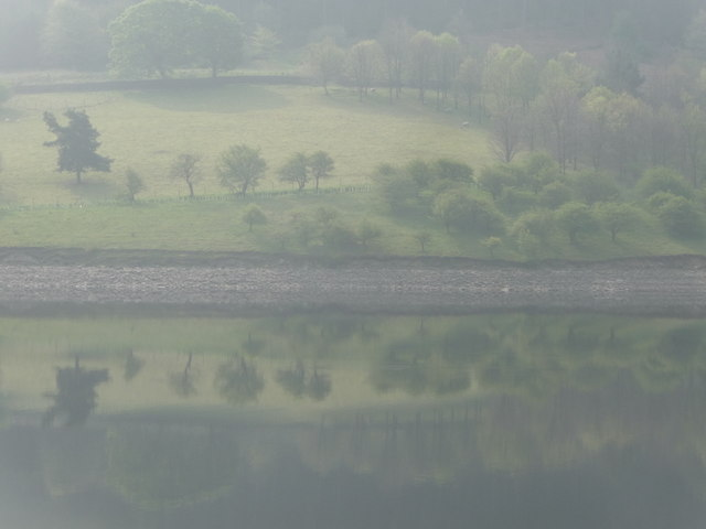 Ladybower: reflections on the reservoir