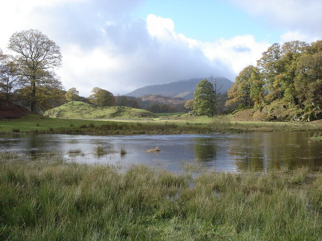 View from the path by Elterwater