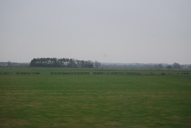 Farmland south of Black Banks