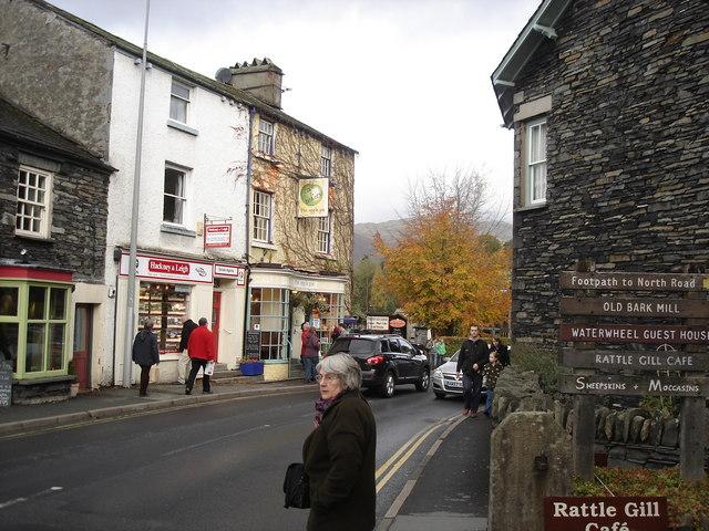 Ambleside - street scene