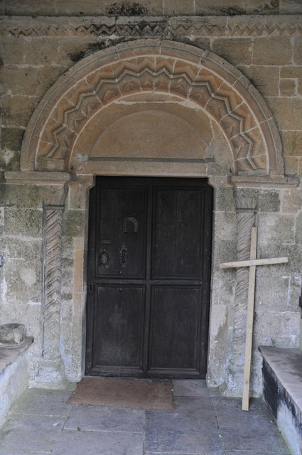 Entrance to Kempsford church