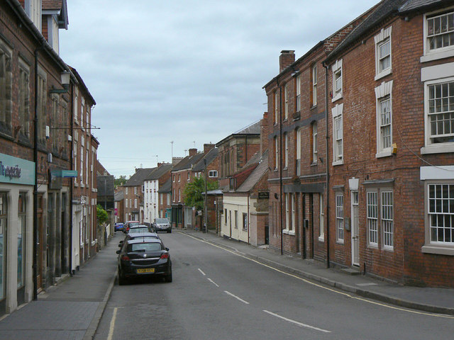 Potter Street, looking east