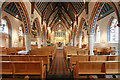 TQ2477 : St Thomas of Canterbury, Rylston Road, Fulham - East end by John Salmon