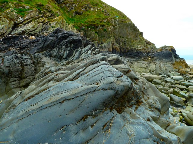 Greywacke Rocks © Andy Farrington :: Geograph Britain and ...