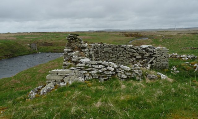 Remains of Caiteag farmstead