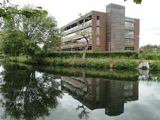 New building next to the R. Wensum, Norwich