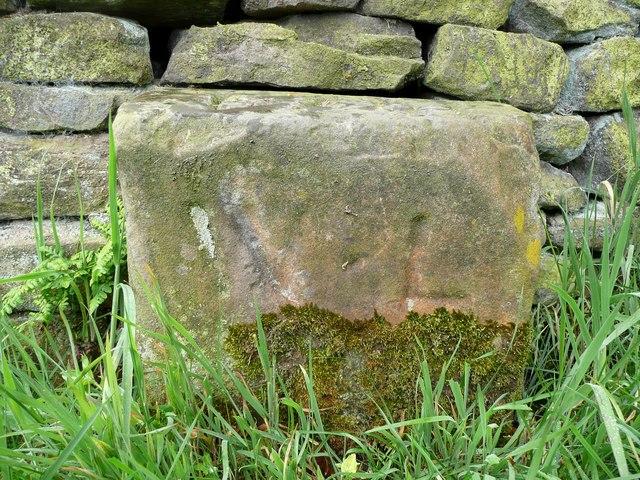 Boundary stone, Grange Moor