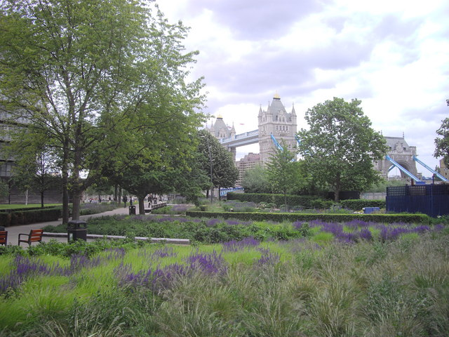 Tower Bridge taken from Potters Fields Park