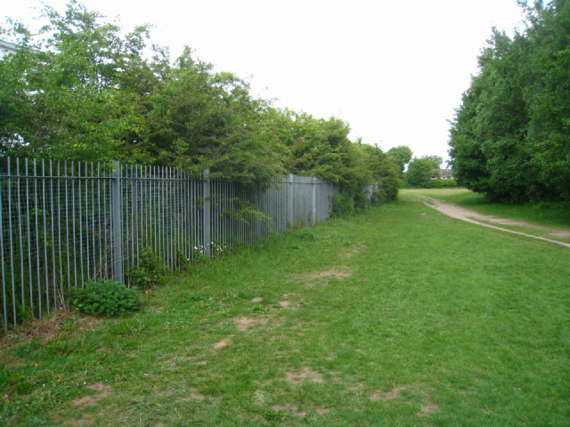 Dove House boundary fence