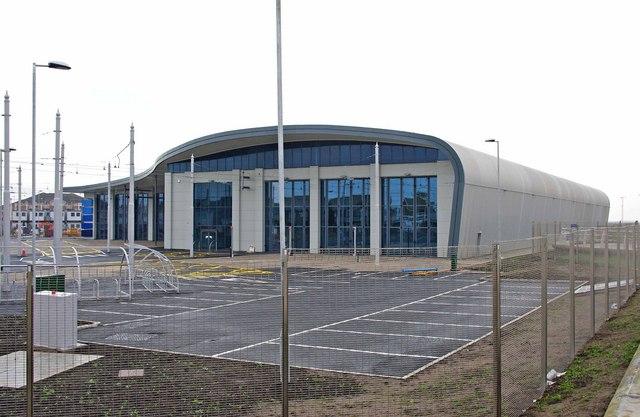 The New Blackpool Tram Depot Starr 169 P L Chadwick Cc
