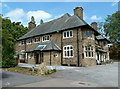 SK4666 : Public house by the A617 by Andrew Hill