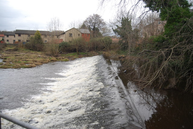 Weir, Water of Leith