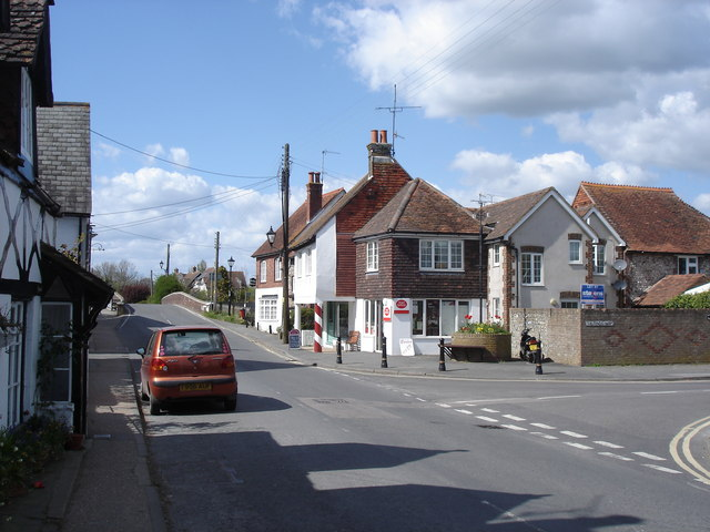 Upper Beeding - High Street and Post Office