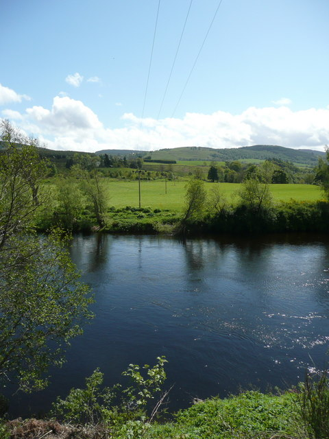 River Tay near Chapelton Cottages