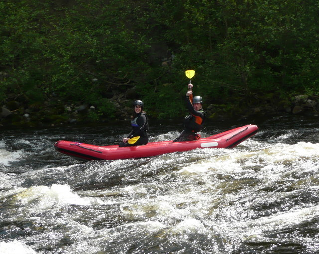 Rafting on the River Tay (2)