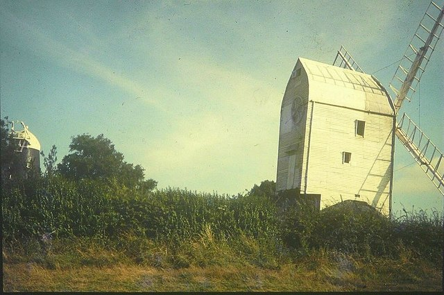 Jack and Jill windmills in 1967