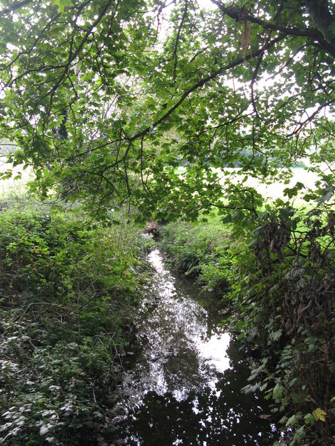The Quaggy River south of New Street Hill, BR1