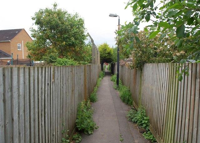 Footpath, Congresbury