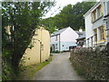 SX1357 : Houses on the north of the river in Lerryn by Rod Allday