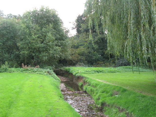 The Kyd Brook, Sundridge Park Golf Course (3)