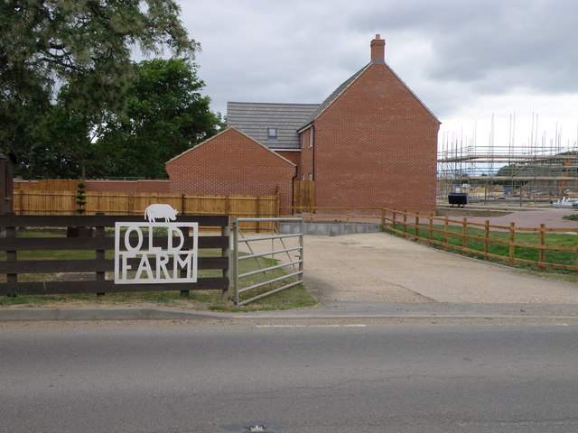 Old Farm, new houses