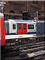 TQ2782 : New Metropolitan Line stock at Baker Street Station by Christopher Hilton