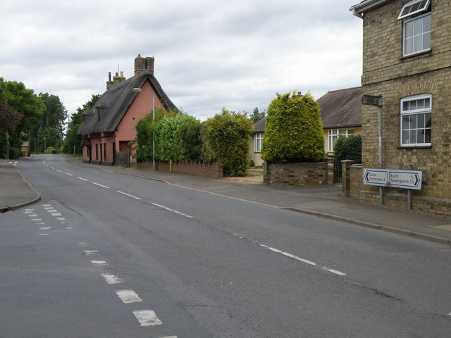 Colne Road in Bluntisham