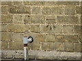 TL3674 : Bench Mark, Bluntisham by Michael Trolove