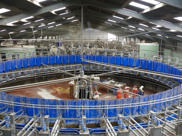 Rotary Parlour at Broadwigg Farm