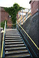 TG3018 : Platform steps at Hoveton and Wroxham Station by Glen Denny