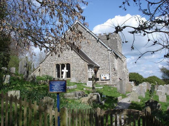 St Nicholas' Church, Bramber Castle