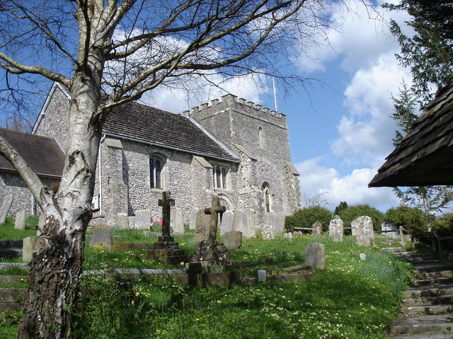 St Nicholas' Church, Bramber Castle