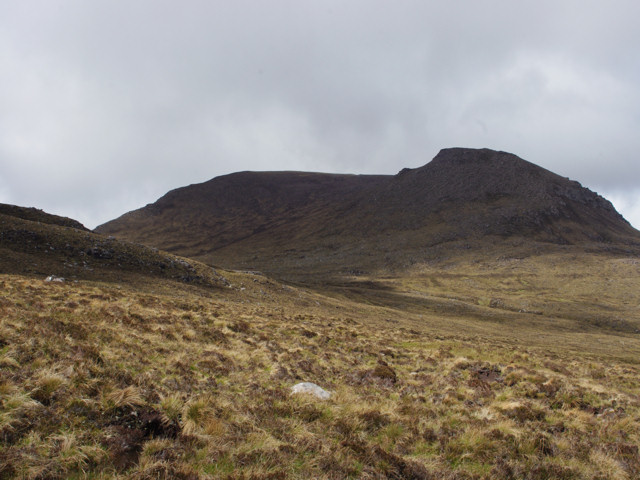 Eastern slopes of Ruigh Meallain looking towards Sail Mhor