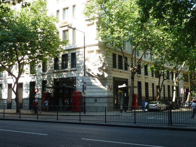 London School of Economics - at junction of Sardinia Street with Kingsway