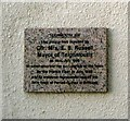 SX9472 : Polished granite plaque, French Street by Robin Stott