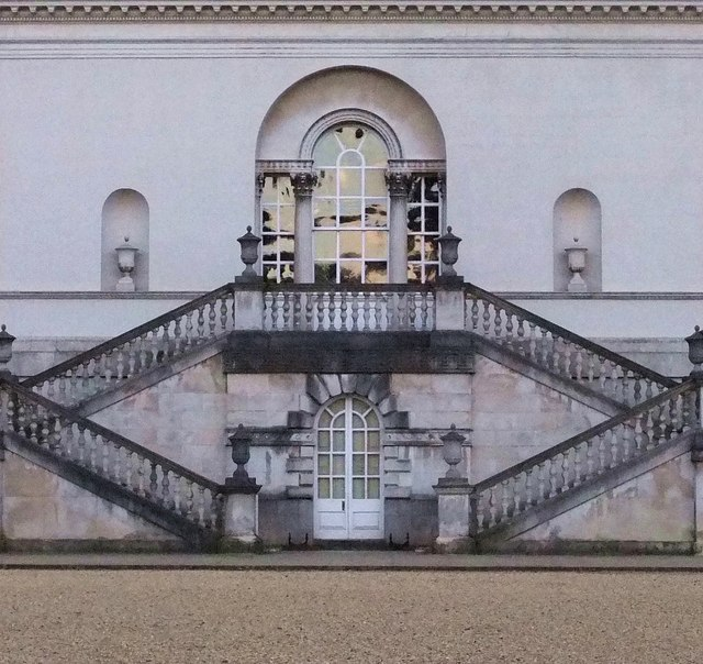 Stairway at Chiswick House