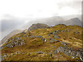 NM8477 : Summit of Beinn Odhar Beag by Jonathan Venn
