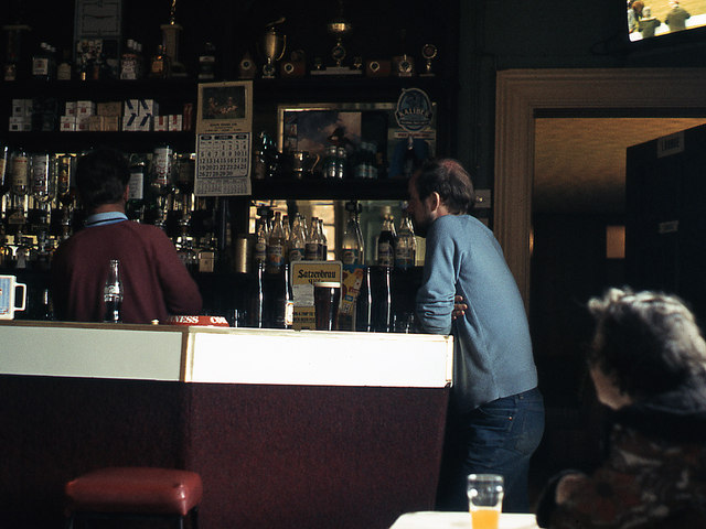 Interior - Joey's Bar, Ballymoney railway station-(1)