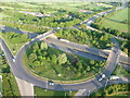 ST0413 : Mid Devon : M5 Motorway Junction 27 by Lewis Clarke