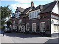 TQ1810 : Bramber - the Castle Inn Hotel by Ian Cunliffe
