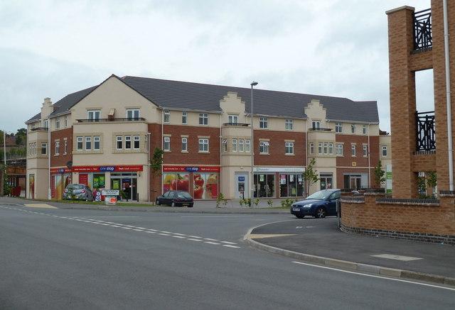 New shops off Redvers Buller Road