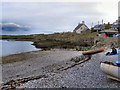 SH5186 : Moelfre Bay by David Dixon