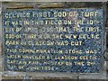 B7720 : Commemoration stone, Mullaghduff by Kenneth  Allen