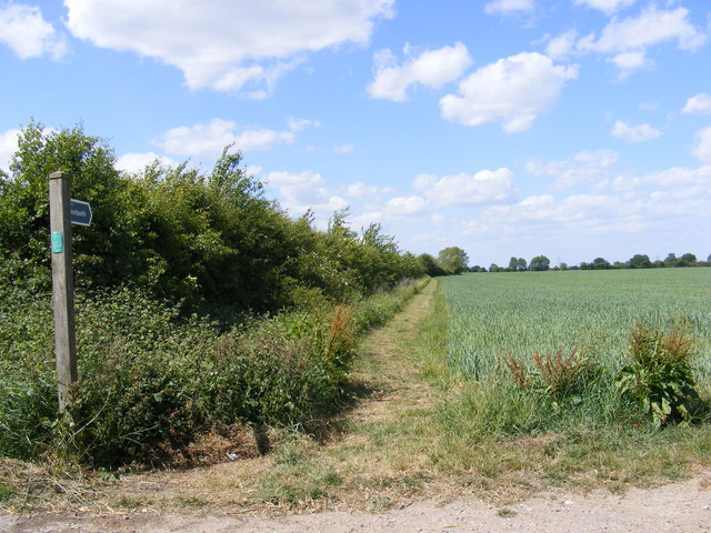 Footpath to Framlingham & Dennington Roads