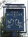 TQ4369 : Sign for The Bickley, Chislehurst Road, BR7 by Mike Quinn
