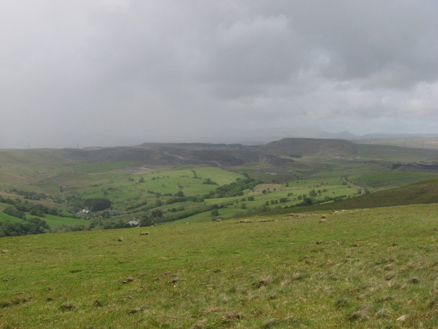 View from Carn y Bugail